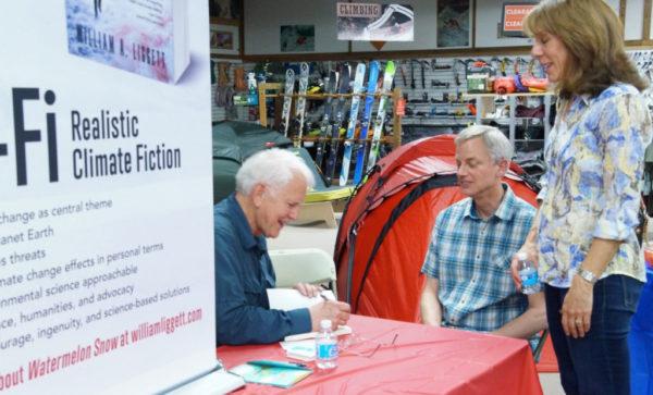 Bill Liggett book signing
